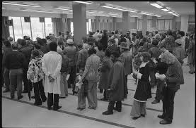 Baltimore Welfare lines